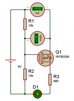 mosfet-canal-p