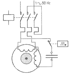 moteur asynchrone monophas u00e9  condensateur de d u00e9marrage ou