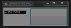Coordonnées X et Y